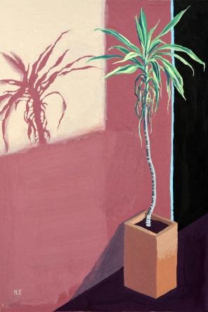 Plant Study (Fuschia)