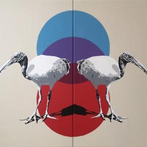 Ibis (Diptych)
