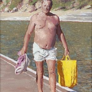 Beach Figure (Yellow Bag)