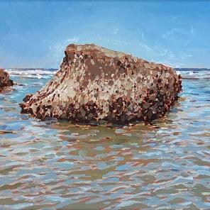 Beach Landscape (The Rock)