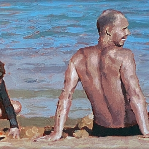 Beach Figures (Father and Son)